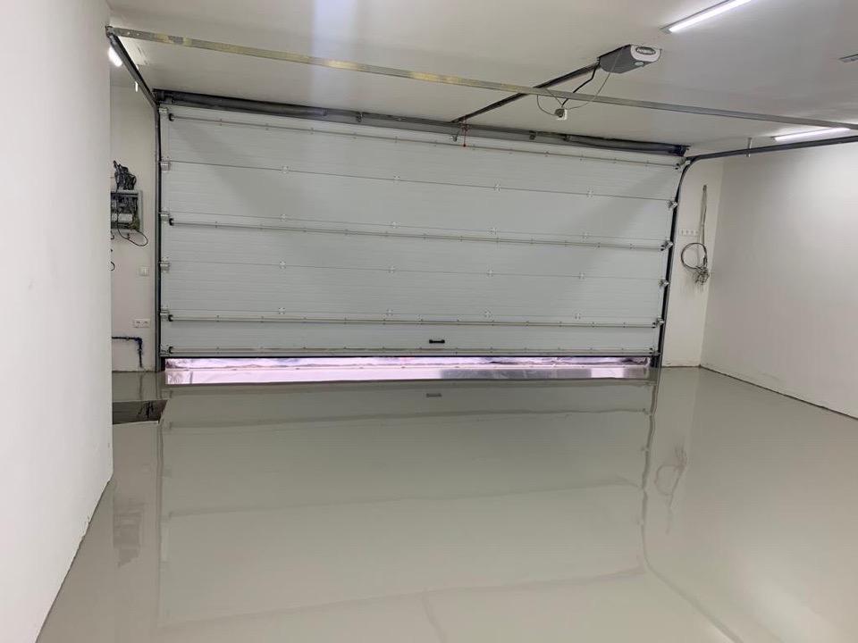 Полимерная гидроизоляция пола в гараже